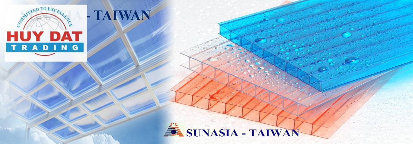 Tấm lợp lấy sáng rỗng Queenlite Malaysia