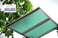 Tấm lợp lấy sáng rỗng Queenlite Malaysia Green