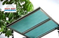 Tấm lợp lấy sáng rỗng Queenlite Malaysia Light Green